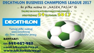 """DECATHLON Business Champions League""... zapisy ruszyły... :-)"