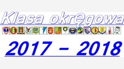 Klasa Okręgowa » Wałbrzych 2017 - 2018