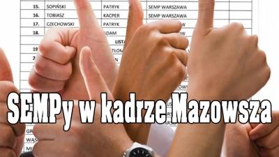 Dwa SEMPy w kadrze Mazowsza