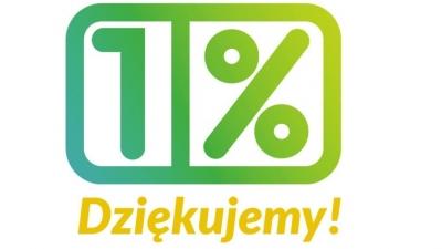 Dziękujemy za 1% z podatku.