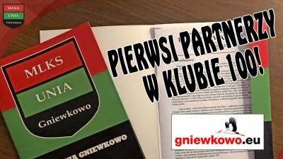 KLUB100: gniewkowo.eu wśród partnerów!