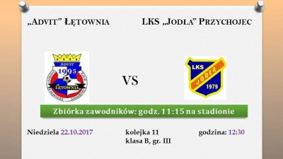 """""""Advit"""" Łętownia vs. """"Jodła"""" Przychojec"""