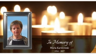 Obituary of Maria Karwowski !