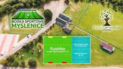 Budżet Obywatelski - zagłosuj na projekt 29. Boisko piłkarskie do gry Funinho!