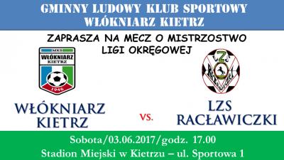 Zapowiedź: Włókniarz Kietrz - LZS Racławiczki
