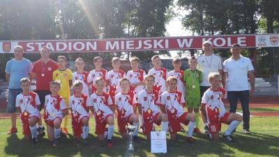 ROCZNIK 2007/2008: Młodziki Młodsze Mistrzami okręgu konińskiego