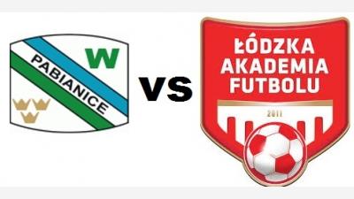 Włókniarz Pabianice vs ŁAF 2006 Kadra B 1-0 (0-0)