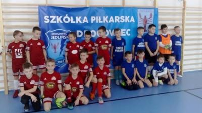 Nasi zawodnicy zagrali na nowej hali w PSP Ludwików...