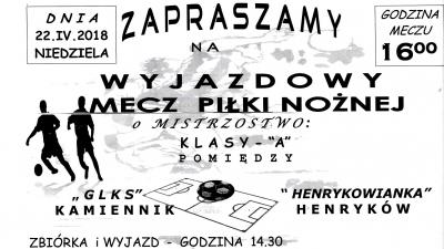 """Meczz  Kamiennikiem za ...""""6 pkt"""""""