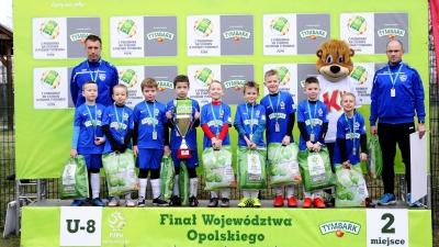 Zagrali w finale wojewódzkim Pucharu Tymbarku