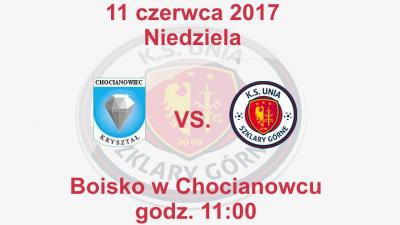 Mecz o mistrzostwo klasy B grupy 2 przeciwko drużynie Kryształ Chocianowiec