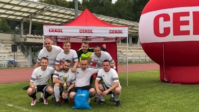 """OBI Bydgoszcz zwycięża turniej piłki nożnej """"CEKOL CUP 2018"""" - GRATULUJEMY!!"""