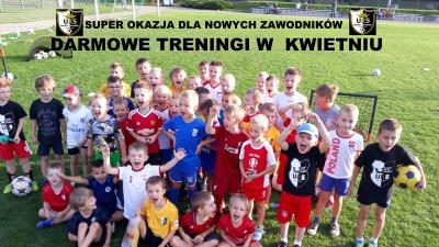 Super okazja !! Nowi trenują za darmo w Kwietniu !!!