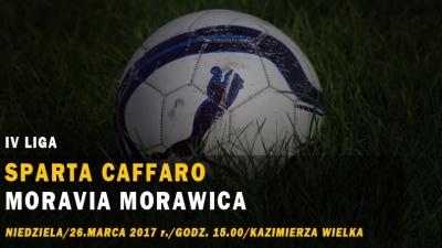 Powalczyć o zwycięstwo - w niedzielę z Moravią Morawica