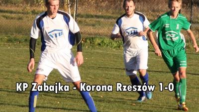 KP Zabajka - Korona Rzeszów 1-0