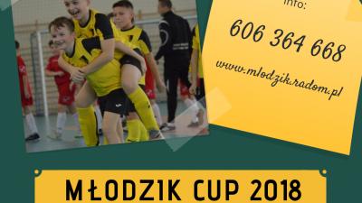 Zapraszamy na Halowe Turnieje MŁODZIK CUP 2018 !