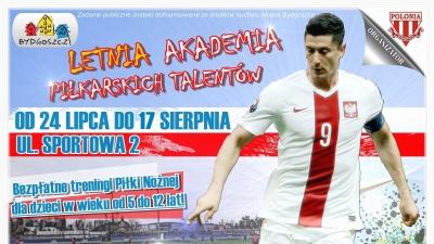 Letnia akademia piłkarskich talentów zaprasza!