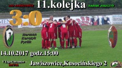 Zwyciestwo 3:0 z beniaminkiem z Juszczyna