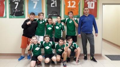 Mini piłka ręczna chłopców - Igrzyska Dzieci 30.11.2017