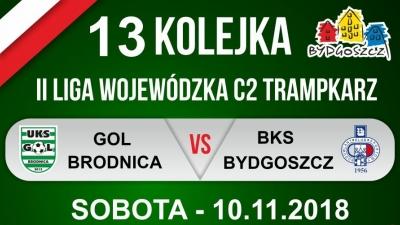 GOL Brodnica - BKS Bydgoszcz