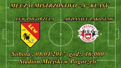 Lew Pogorzela - Awdaniec Pakosław