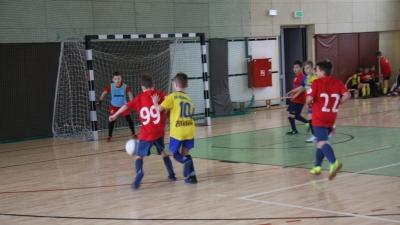 4 miejsce Orlików w turnieju halowym Stradomiak Cup.