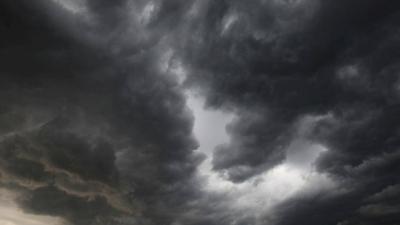 Czarne chmury nad Chorkówką