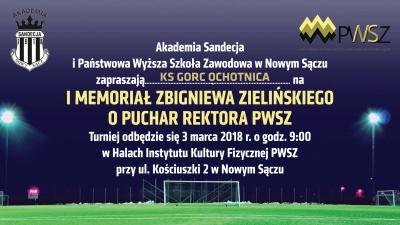 Sandecja Nowy Sącz i PWSZ zapraszają Akademię Gorca na Turniej