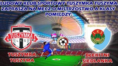 Tuszymka Tuszyma-Błękitni Siedlanka23 października, 11:00