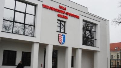 Treningi w nowej hali widowiskowo-sportowej w Golinie !