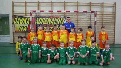 Debiut Mazura U-9 w rozgrywkach Płockiej Ligi Orlik