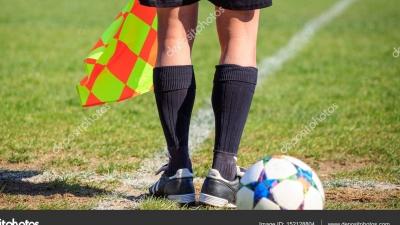 Szkolenie dla asystentów Śląskiego Związku Piłki Nożnej.