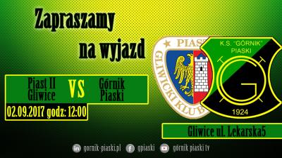 Zapowiedź: Piast II Gliwice - Górnik Piaski