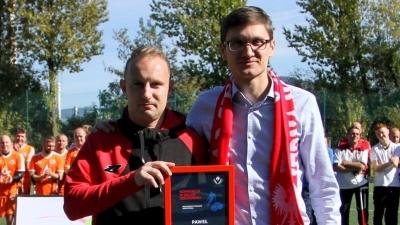 Paweł Susek sędzia meczu finałowego Mistrzostw Świata w Amp Futbolu!