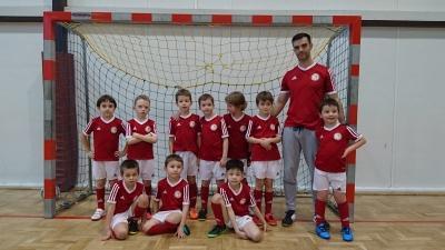 Debiut w turnieju halowym drużyny 2009/10