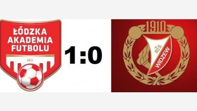 ŁAF Kadra A vs Widzew Łódź 1:0