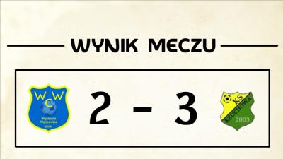 Przegrana z Rzuchową.