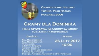 Charytatywny Turniej Piłki Nożnej - Gramy dla Dominika!