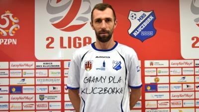 Adrian Klepczyński w kadrze MKS-u