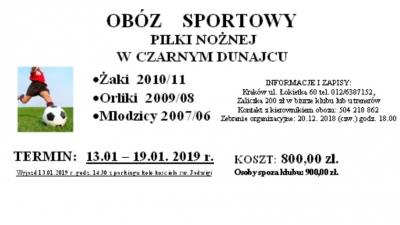 Obóz  Zimowy - Czarny Dunajec