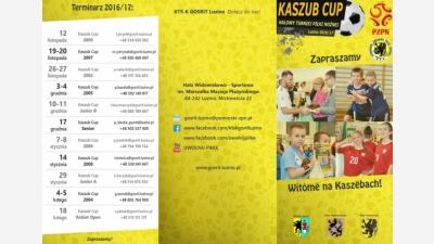 Zapraszamy na Ogólnopolskie Turnieje Kaszub Cup w 11 kategoriach wiekowych