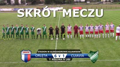 VIDEO: Skrót meczu Orlęta 6:1 Cuiavia Inowrocław