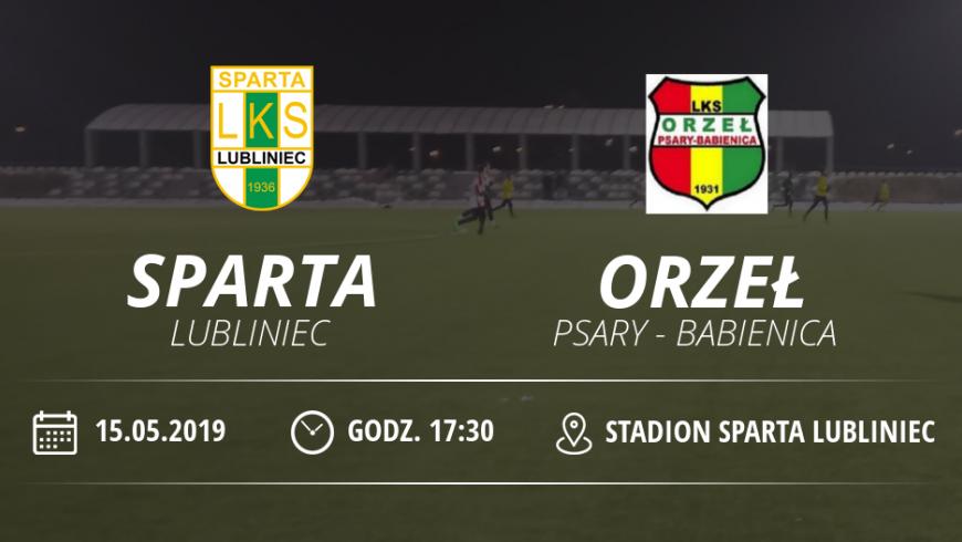 """LKS """"Sparta"""" Lubliniec vs Orzeł Psary - Babienica"""