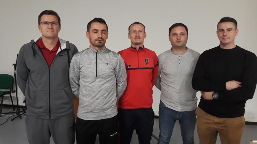 Trenerzy MKS Olimpii Koło na III Konferencji Szkoleniowej w Koninie
