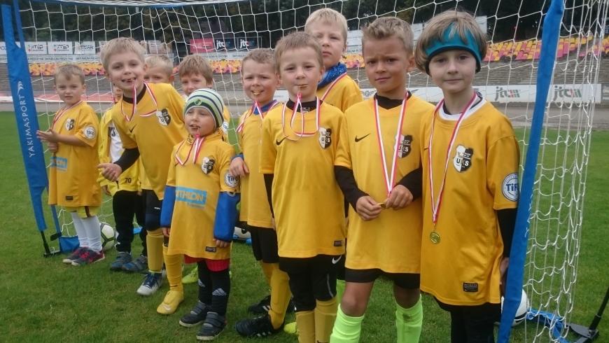 Grali nasi najmłodsi zawodnicy UKS TALENT