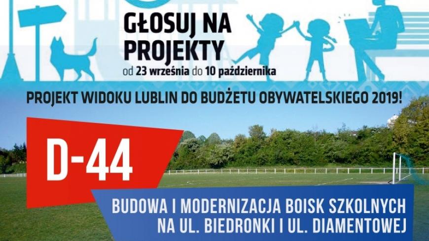 Budżet Obywatelski 2019 - nasze projekty!