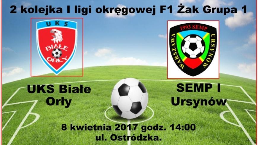 Wideorelacja z meczu 2 kolejki MZPN UKS Białe Orły - KS Semp 1.