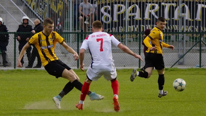 Unia Gniewkowo - Sparta 0-0