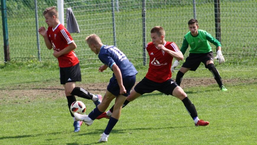 U19: Dobry mecz i wygrana juniorów z Pcimianką Pcim