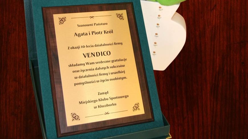 Wszystkiego najlepszego dla firmy Vendico!
